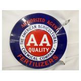 VIEW 3 OTHERSIDE AA FLANGE SIGN