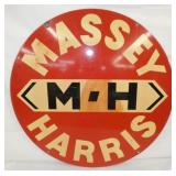 VIEW 3 SIDE 2 PORC. MASSEY HARRIS SIGN