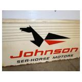 VIEW 2 CLOSEUP JOHNSON DEALER SIGN