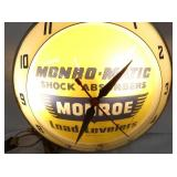 VIEW 2 CLOSEUP MONROE BUBBLE CLOCK