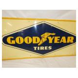 VIEW 2 CLOSEUP GOODYEAR TIRES SIGN