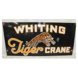 24X48 PORC. WHITING TIGER CRANE SIGN
