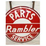 VIEW 2 CLOSEUP RAMBLER W/ FRAME