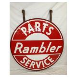 VIEW 3 SIDE 2 PORC. RAMBLER DEALER SIGN