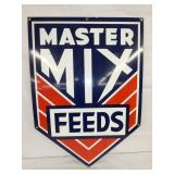28X40 PORC. MASTER MIX FEEDS SIGN