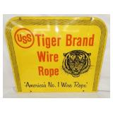 30X26 USS TIGER BRAND ROPE SIGN