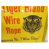 VIEW 2 TIGER BRAND ROPE SIGN