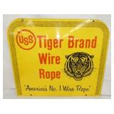 VIEW 3 SIDE 2 TIGER BRAND ROPE SIGN