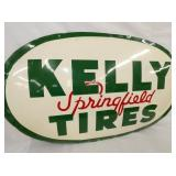 VIEW 2 CLOSEUP EMB. KELLY TIRES SIGN