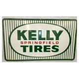 48X28 EMB. 1965 KELLY TIRES SIGN