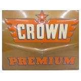 VIEW 2 CLOSEUP EMB. CROWN SIGN