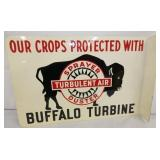 18X12 BUFFALO TURBINE FLANGE SIGN