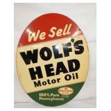 23X30 1948 WOLFS HEAD SIGN
