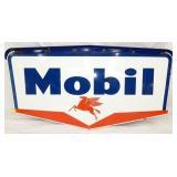 58X30 PORC. MOBIL OIL W/BRACKET