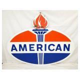 74X59 PORC. AMERICAN W/ FLAMES