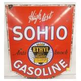 24X30 PORC. SOHIO GASOLINE SIGN