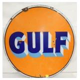 30IN PORC. GULF SIGN