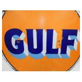 VIEW 2 CLOSEUP PORC. GULF SIGN