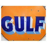 VIEW 4 CLOSEUP SIDE 2 GULF SIGN