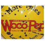 VIEW 4 SIDE 2 CLOSEUP WOCO PEP SIGN