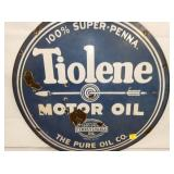 VIEW 2 CLOSEUP TIOLENE OIL SIGN