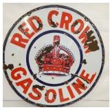 VIEW 3 SIDE 2 RED CROWN SIGN