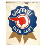 VIEW 2 CLOSEUP PONTIAC GOODWILL SIGN