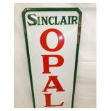 VIEW 2 SINCLAIR OPALINE PORC. SIGN