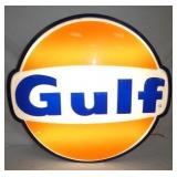 34X32 LIGHTED GULF CAN SIGN