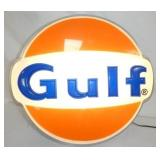 GULF #2 SIGN 28X26 LIGHTED