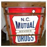 36x48 MUTUAL DRUGS NOS SIGN