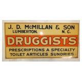 23X11 NOS DRUGGISTS SIGN