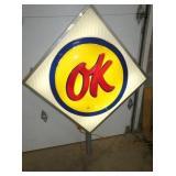 VIEW 4 OTHERSIDE OK DEALER SIGN