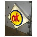 VIEW 6 LIGHTED OK DEALER SIGN