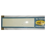 96X23 PENNZOIL STATION PRICE SIGN