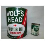 1G. WOLFS HEAD, QUAKER STATE MOTOR OIL
