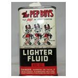 THE PEP BOYS LIGHTER FLUID TIN