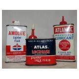 ATLAS/AMOLITE/ATLANTIC POCKET TINS