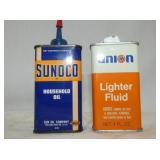 SUNOCO/UNION POCKET OIL TINS