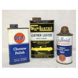 GULF/GULFMIST/SURLESTER OIL CANS