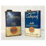 GULFSPRAY CANS