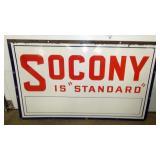 36X60 PORC. SOCONY STANDARD SIGN