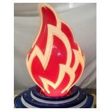 VIEW 2 W/13X18 ORG 3D FLAME
