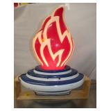 VIEW 5 SIDE 2 STANDARD 3D FLAME GLOBE