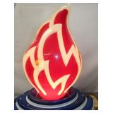 VIEW 6 CLOSE UP 3D FLAME