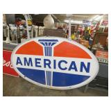 76X45 PORC. AMERICAN DOUBLE SIDED SIGN