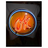 VIEW 6 24IN OK NEON SIGN