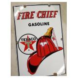 PORC. 1963 FIRE CHIEF PUMP PLATE