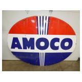 84X60 PORC. AMOCO SIGN