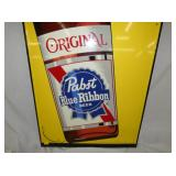 REPEAT PICTURE PABST BLUE RIBBON SIGN